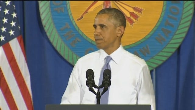 WEB EXTRA: President Obama Speaks In Durant Part 3