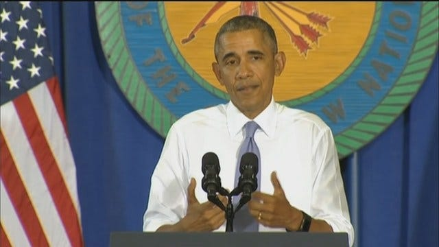 WEB EXTRA: President Obama Speaks In Durant Part 5