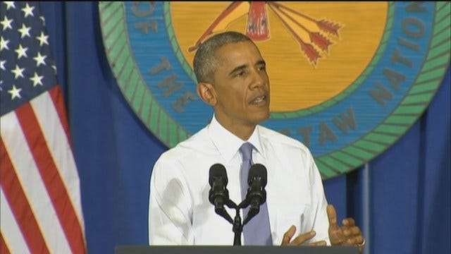 WEB EXTRA: President Obama Speaks In Durant Part 4