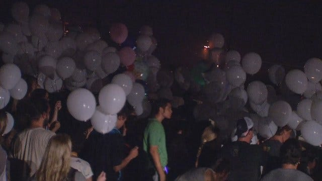 WEB EXTRA: Video From Vigil In Owasso Baby Death