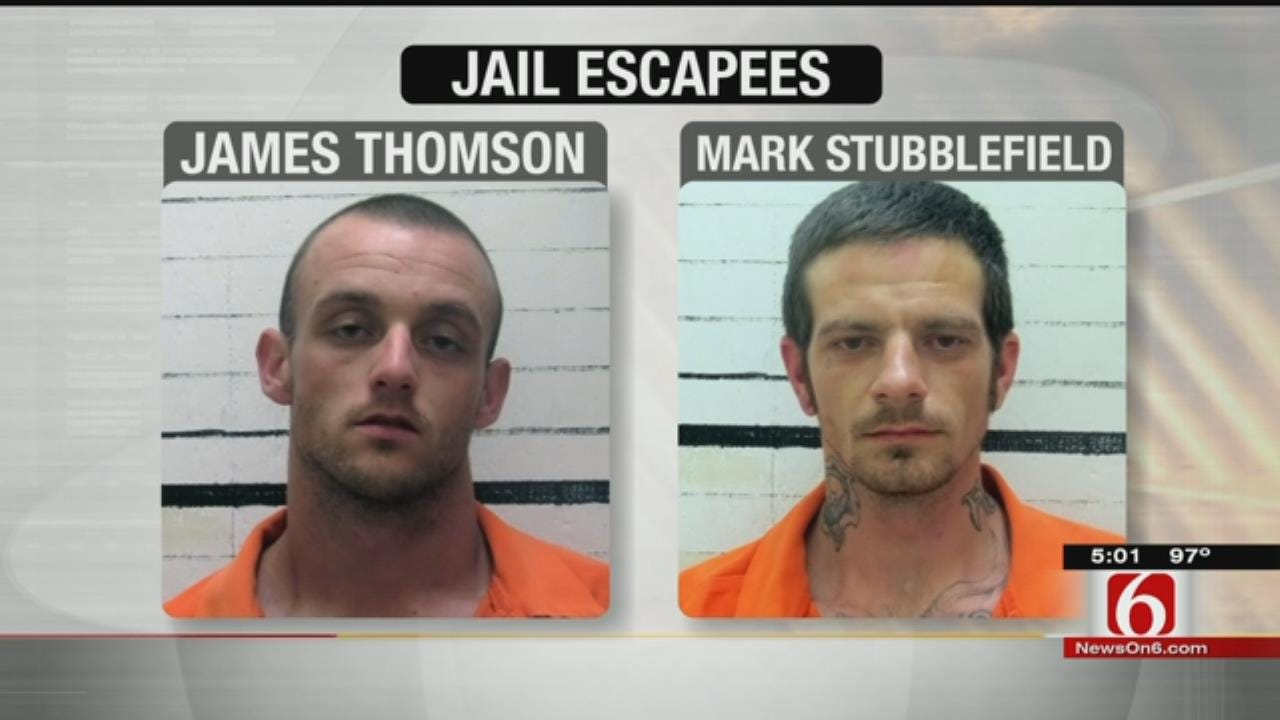 One Muskogee Inmate Captured, Second At Large