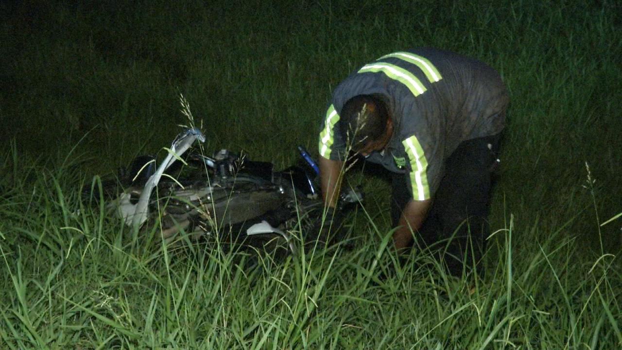 WEB EXTRA: Overnight Crashes Keep Tulsa Police Busy