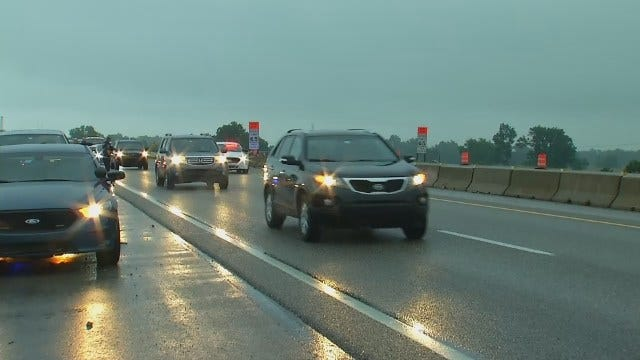 WEB EXTRA: Video From Scene Of Crash On Highway 169 North Of Tulsa