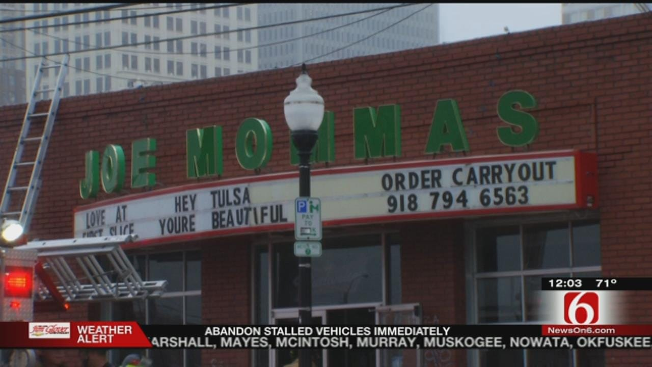 Owner Hopes To Have Joe Momma's Reopened Quickly After Fire
