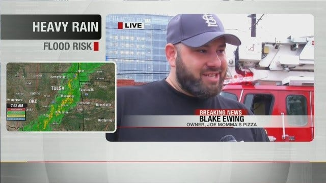 Joe Momma's Owner, Blake Ewing Talks About Fire At His Tulsa Restaurant