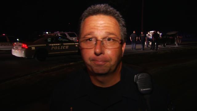 WEB EXTRA: Tulsa Police Sgt. Mark MacKenzie Talks About Chase, Arrest