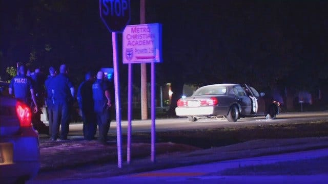 WEB EXTRA: Video From Scene Of Police Chase, Arrest