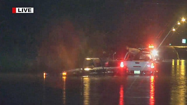 WEB EXTRA: News On 6 Captures Muskogee Water Rescue