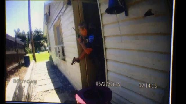 WEB EXTRA: Tahlequah Officer Body Cam Video From Fatal Shooting