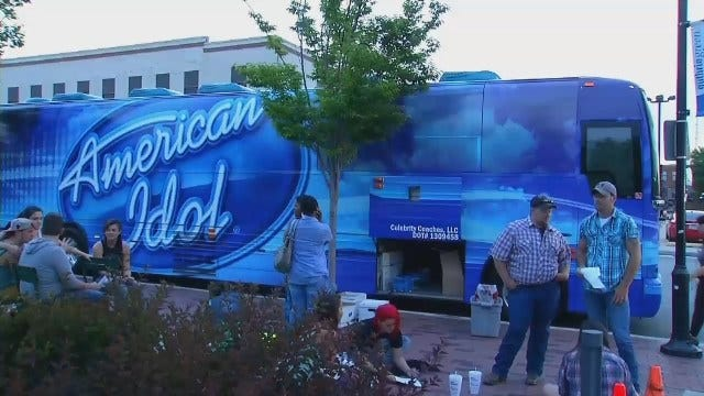 American Idol Holds Auditions In Downtown Tulsa