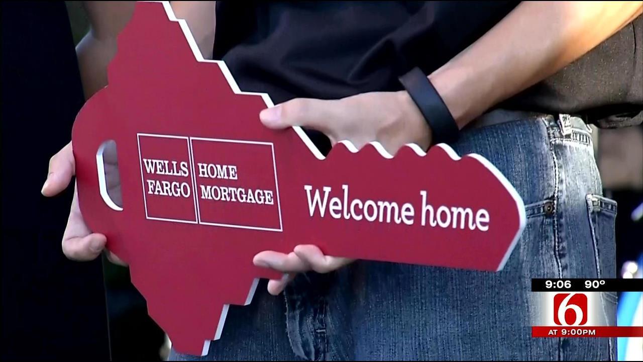 Iraq War Veteran Awarded Mortgage-Free Home At Rockets Over Rhema