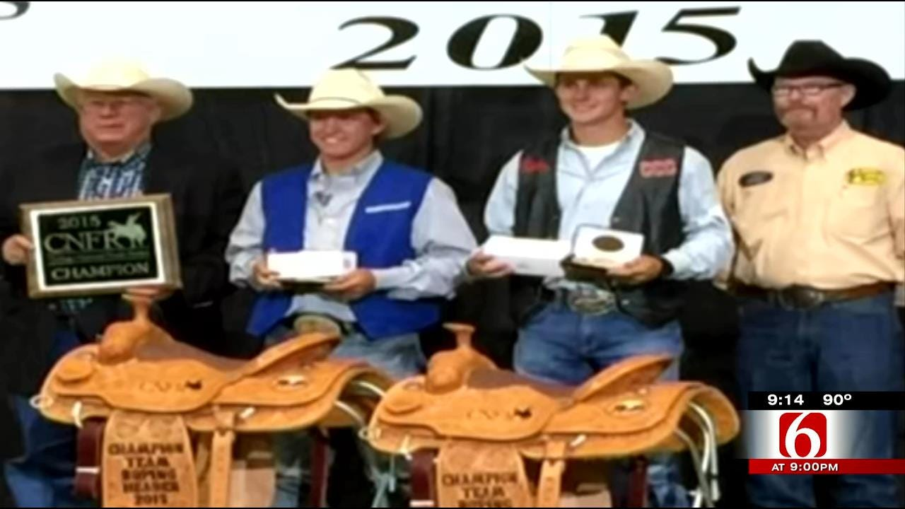 Oklahoma Cowboys Bring Home College Team Roping Title