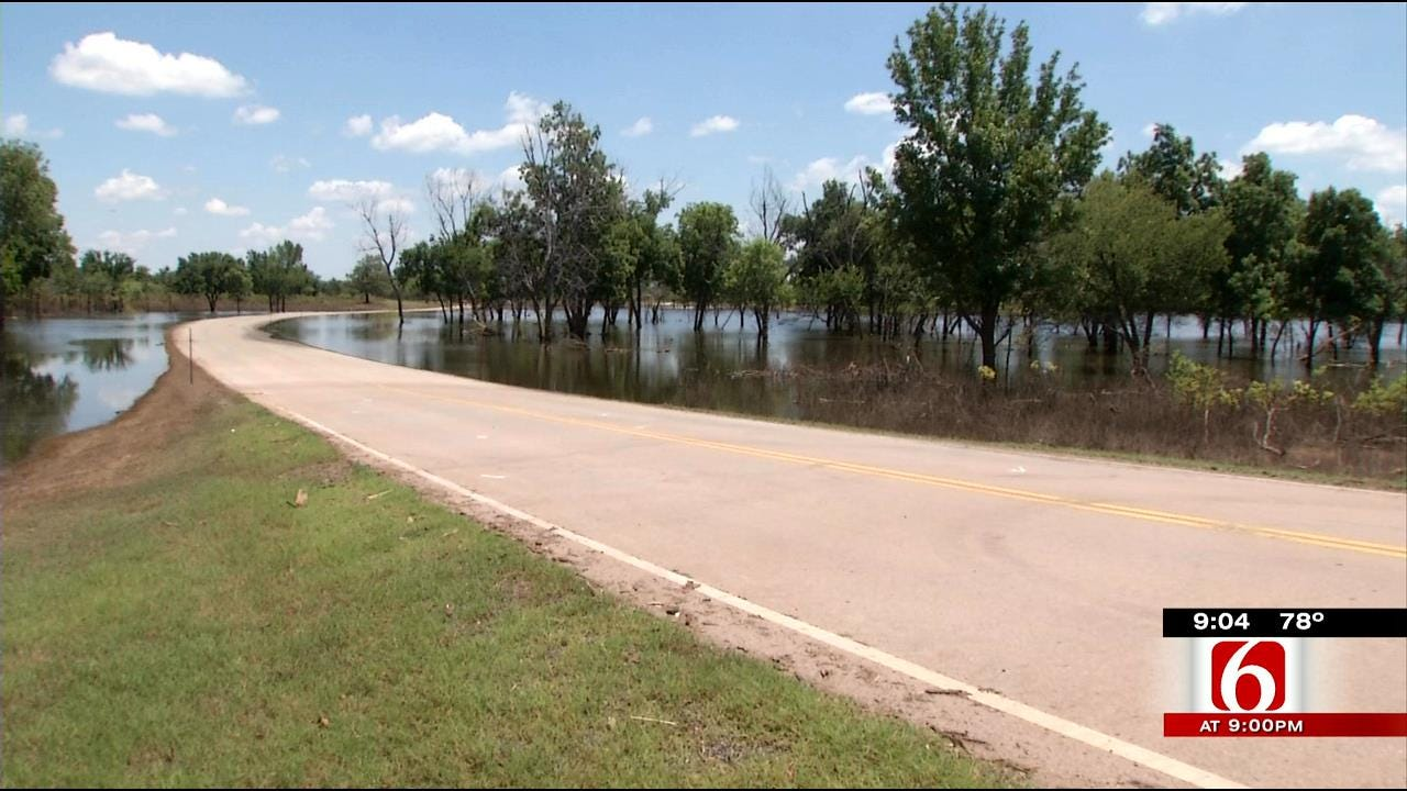 Mannford's Prairie View Ramp Reopens After Floodwaters Recede