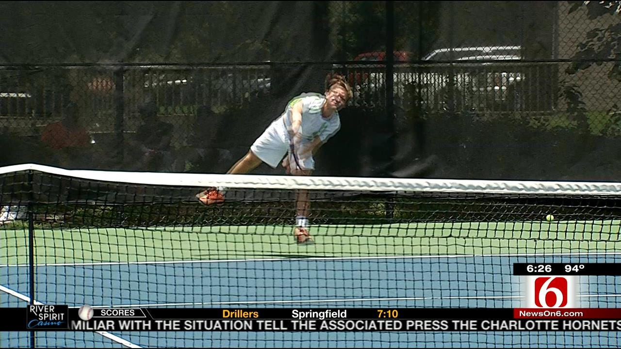 Players With Tulsa Ties Win First-Round Matches At Tulsa Pro Championships