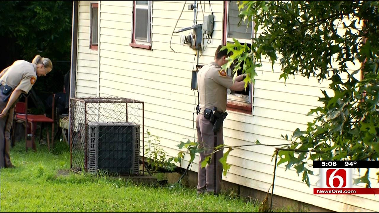 Suspicious Fire Investigated At Turley Home Where Child Went Missing
