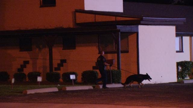 WEB EXTRA: Tulsa Police Search For Church Burglar