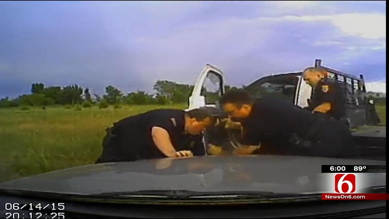 Video Shows New Angle Of Owasso Officer Accused Of Excessive Force