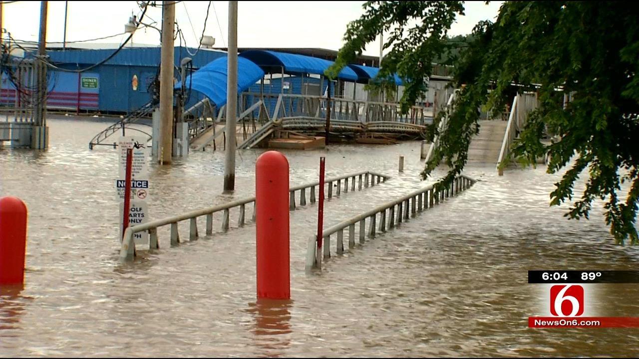 Flooding Hits Lake Eufaula Businesses Hard