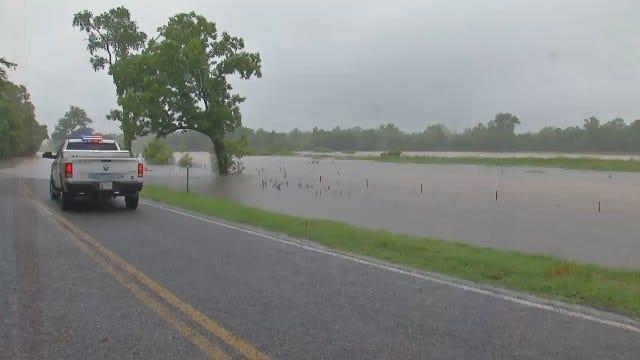 WEB EXTRA: Flooding Near Okemah