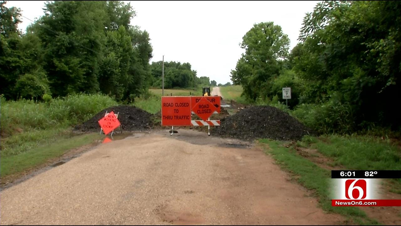 Wagoner County Dealing With Flooding Aftermath With More Rain On The Way
