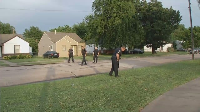 WEB EXTRA: Video From Scene Of Gunfire In North Tulsa Neighborhood