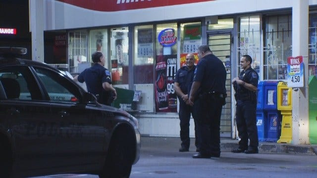 WEB EXTRA: Video From Scene Of East Tulsa Armed Robbery