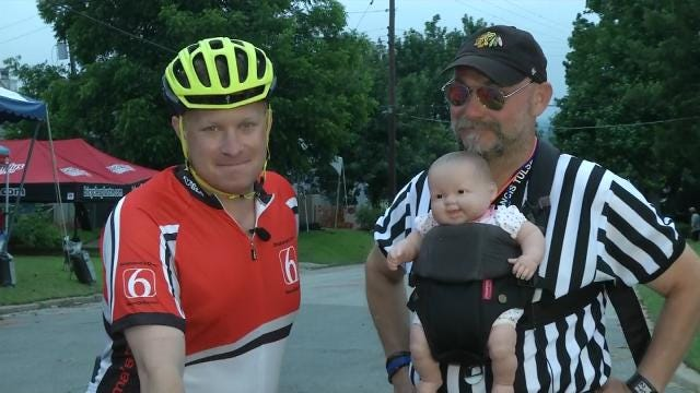 WEB EXTRA: Referee Gives Tulsa Tough Cry Baby Hill Guide