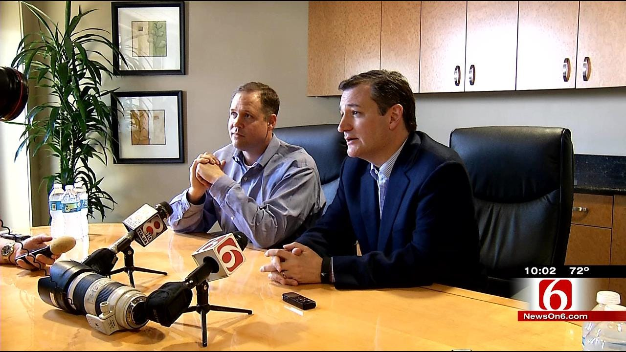 Bridenstine, Cruz Talk Energy Bill, Impact On Oklahoma
