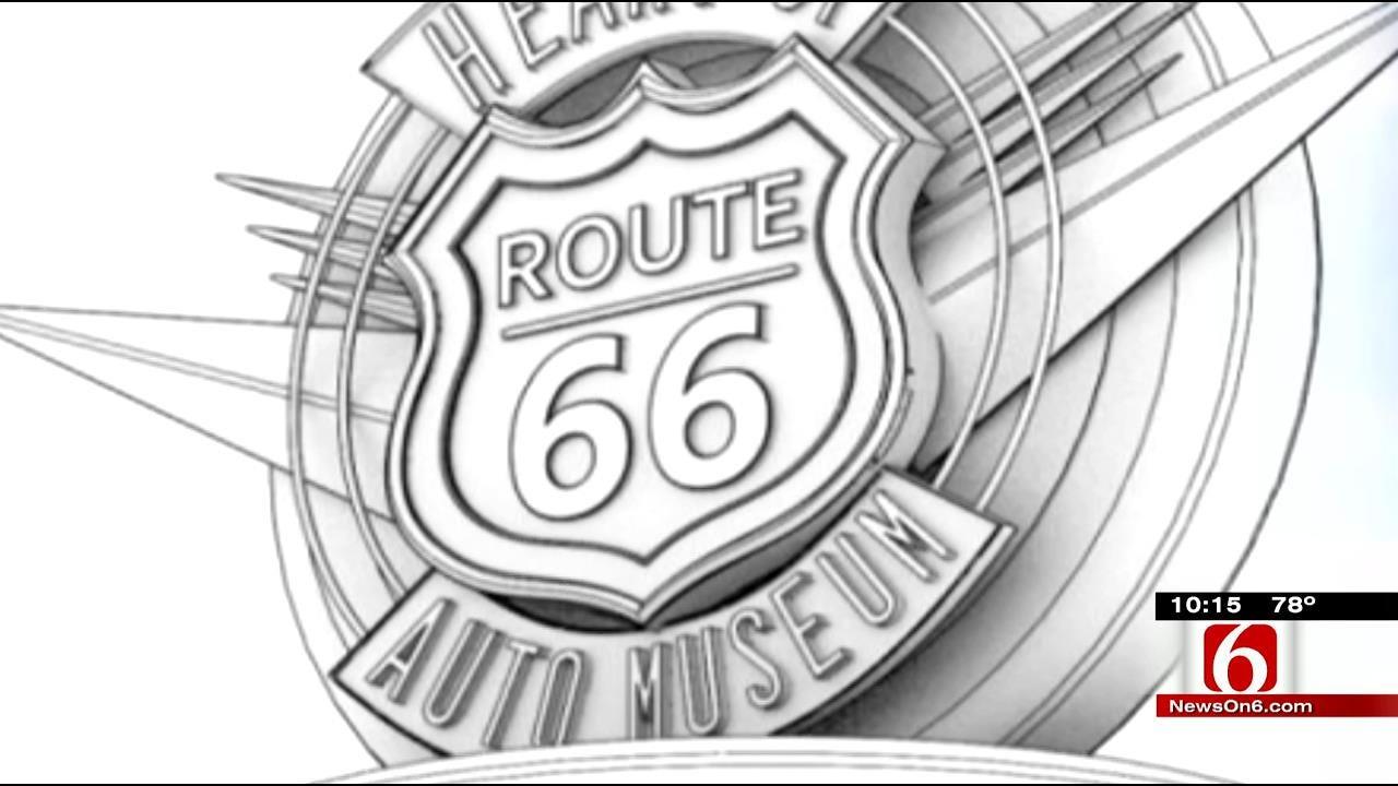 Route 66 Museum Pulling Into Sapulpa