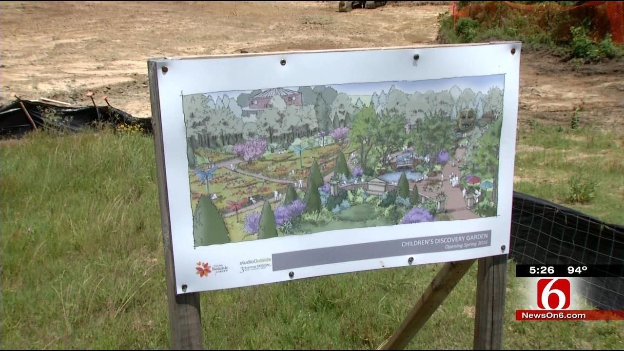 Architects Making Progress On Tulsa Botanic Garden