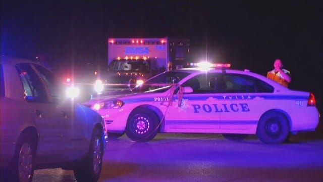 WEB EXTRA: Video From Scene Of East Tulsa Fatal Crash