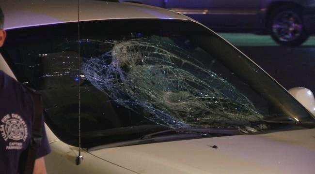 WEB EXTRA: Man Injured Running Across Tulsa Street
