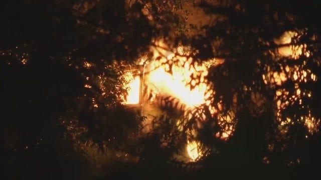 WEB EXTRA: Good Samaritans Pull Tulsa Driver From Burning SUV