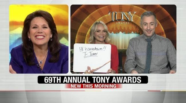 Kristin Chenoweth, Alan Cumming On 6 In The Morning