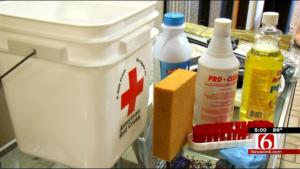 Experts Warn Flood Victims To Clean Properly To Avoid Mold Dangers