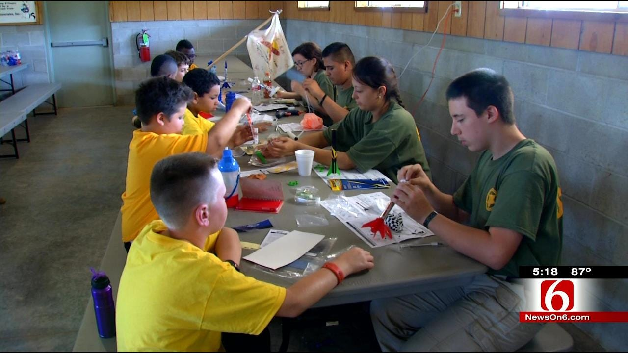 Tulsa County Sheriff's Office Holds Annual Boy Scout Camp
