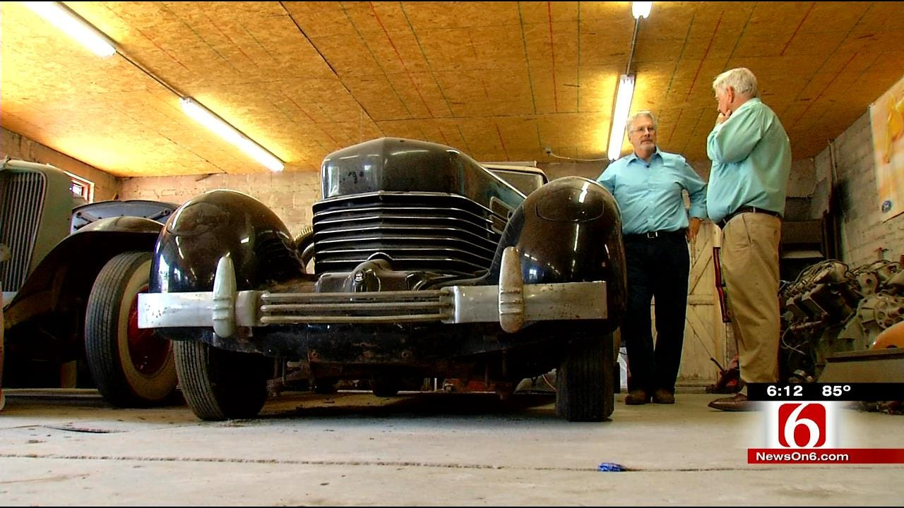 Oklahoma Man Reconnects With Family Car, 'The Lost Cord'