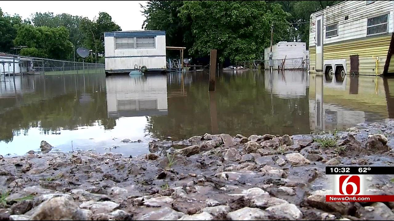 Flood Releases From Fort Gibson Dam Puts Webbers Falls On Alert