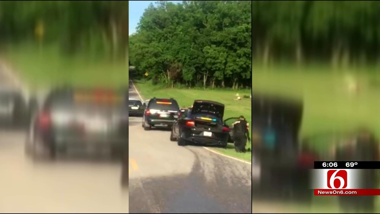 Witness Films Part Of Crime Spree That Wounded Oologah Officer