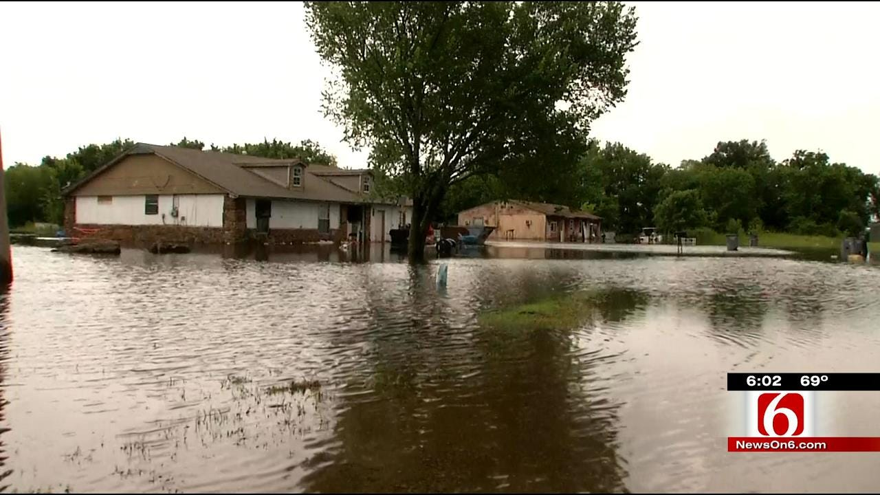 Wagoner Pumping Millions Of Gallons Of Water To Prevent More Flooding