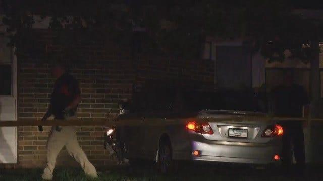 WEB EXTRA: Video Of East Tulsa Shooting Scene And Crash