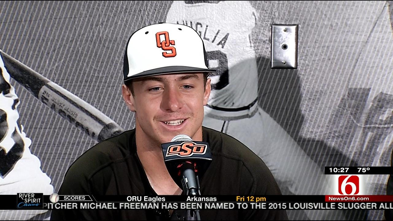 Father-Son Duo Play Key Part In OSU Baseball's Success