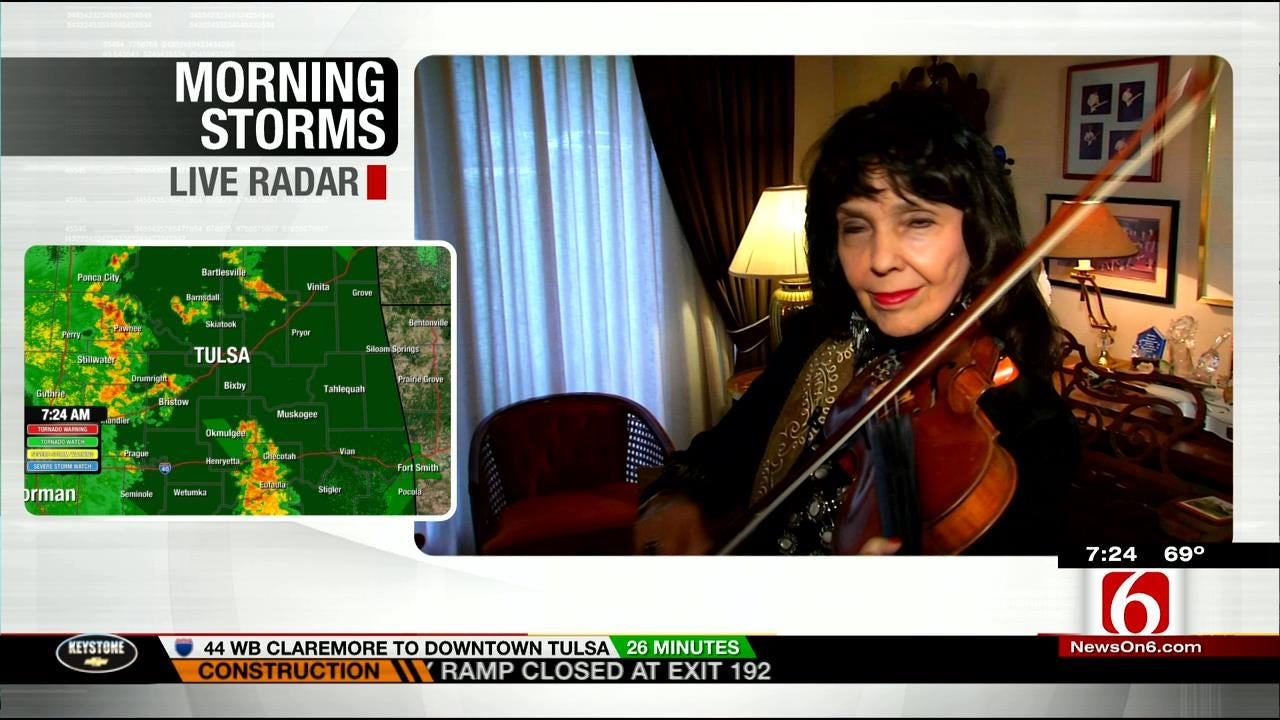 Jana Jae Looks Back Ahead Of Induction Into National Fiddler Hall Of Fame
