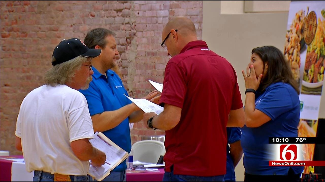 BA Chamber Holds Job Fair For Recently Laid Off