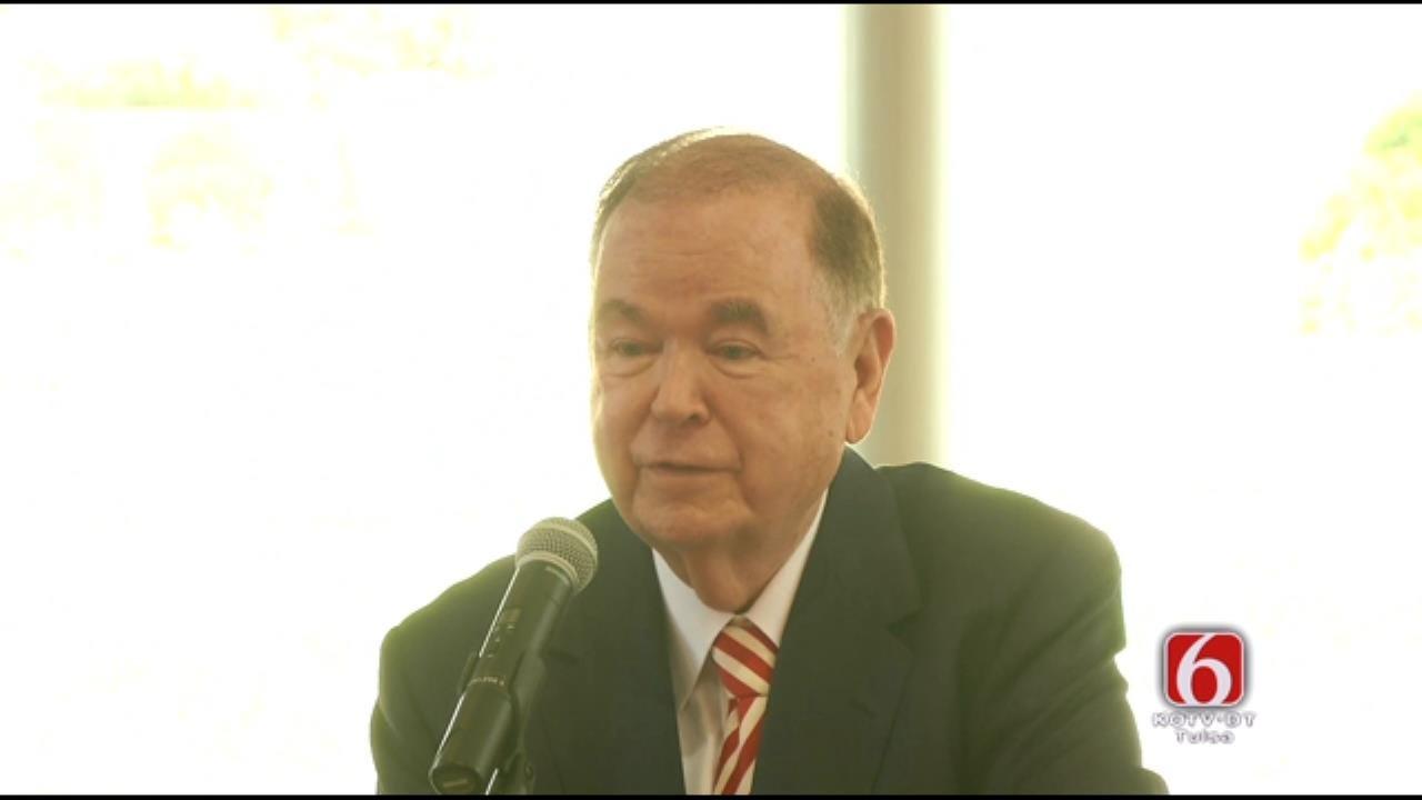 WEB EXTRA: OU President David Boren Heart Health Grant Announcement
