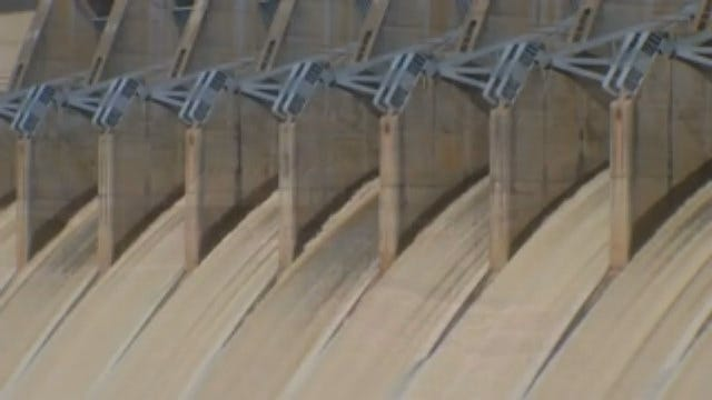 WEB EXTRA: Video From Keystone Dam