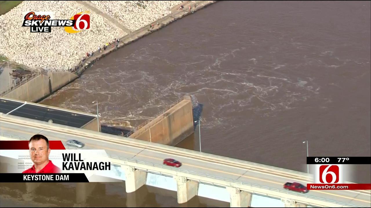 WEB EXTRA: Osage SkyNews 6 HD Flies Over Keystone Dam