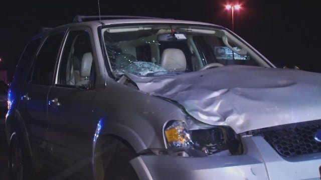 WEB EXTRA: Video From Scene Of Fatal Crash On Skelly Drive