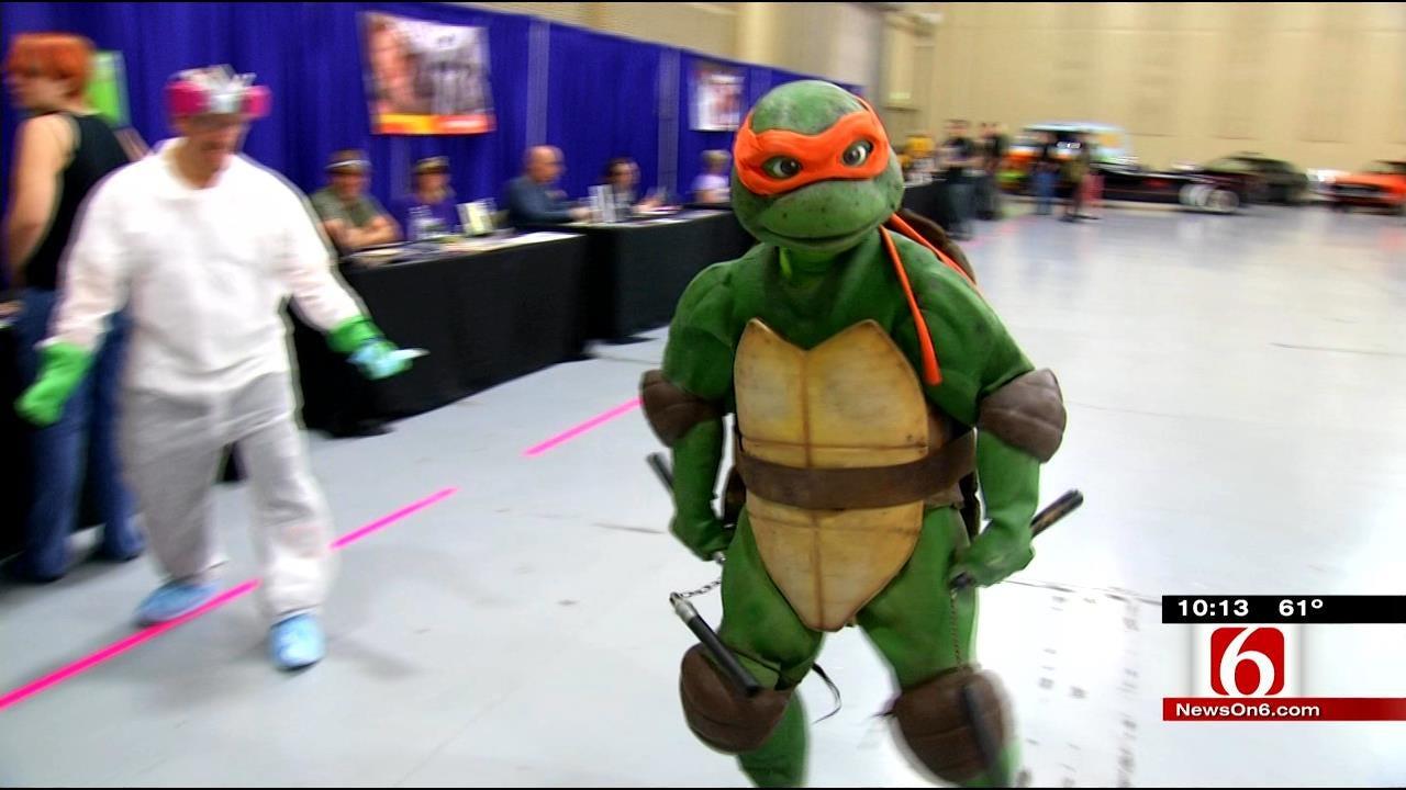 Pop-Culture Comes To Life At Tulsa Comic Expo