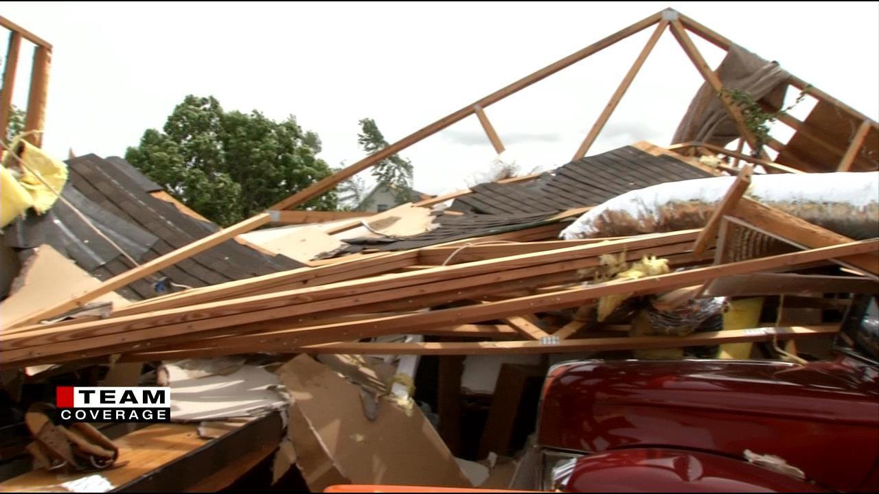Classic Cars, Lifelong Labor Damaged By Inola Tornado